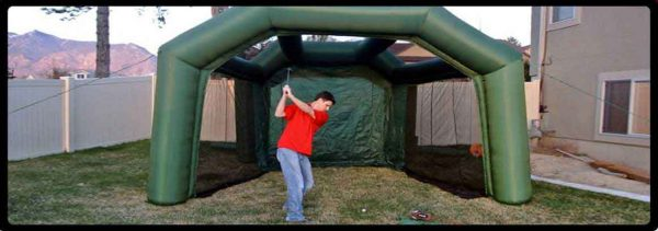 Inflatable Golf Cage for Backyard