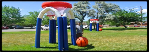 Inflatable Basketball Games