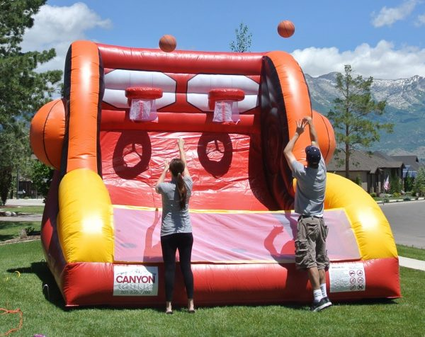Two Person Basketball Inflatable Game